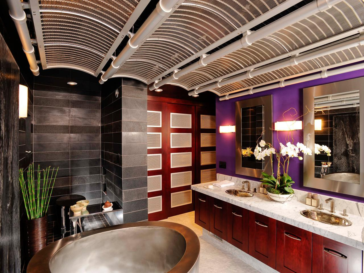 Asian design ideas interior design styles and color schemes for home decorating hgtv - Amazing contemporary bathroom design ideas at lovely home ...