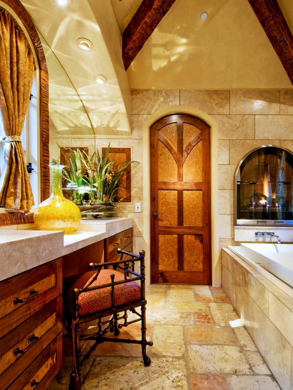 old world design ideas hgtv - Bathroom Design Ideas Italian