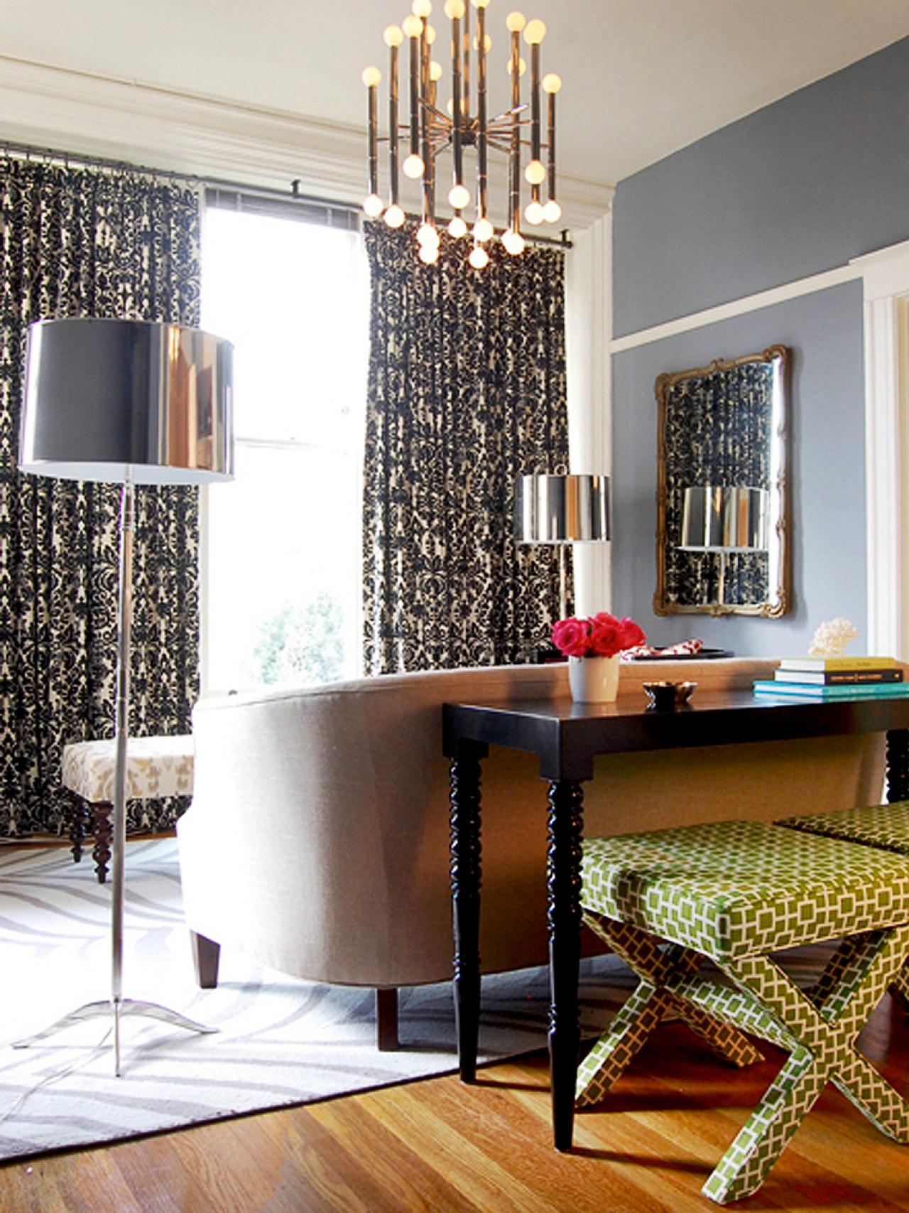 Mod Living Room Home Decor Ideas: Photo Page