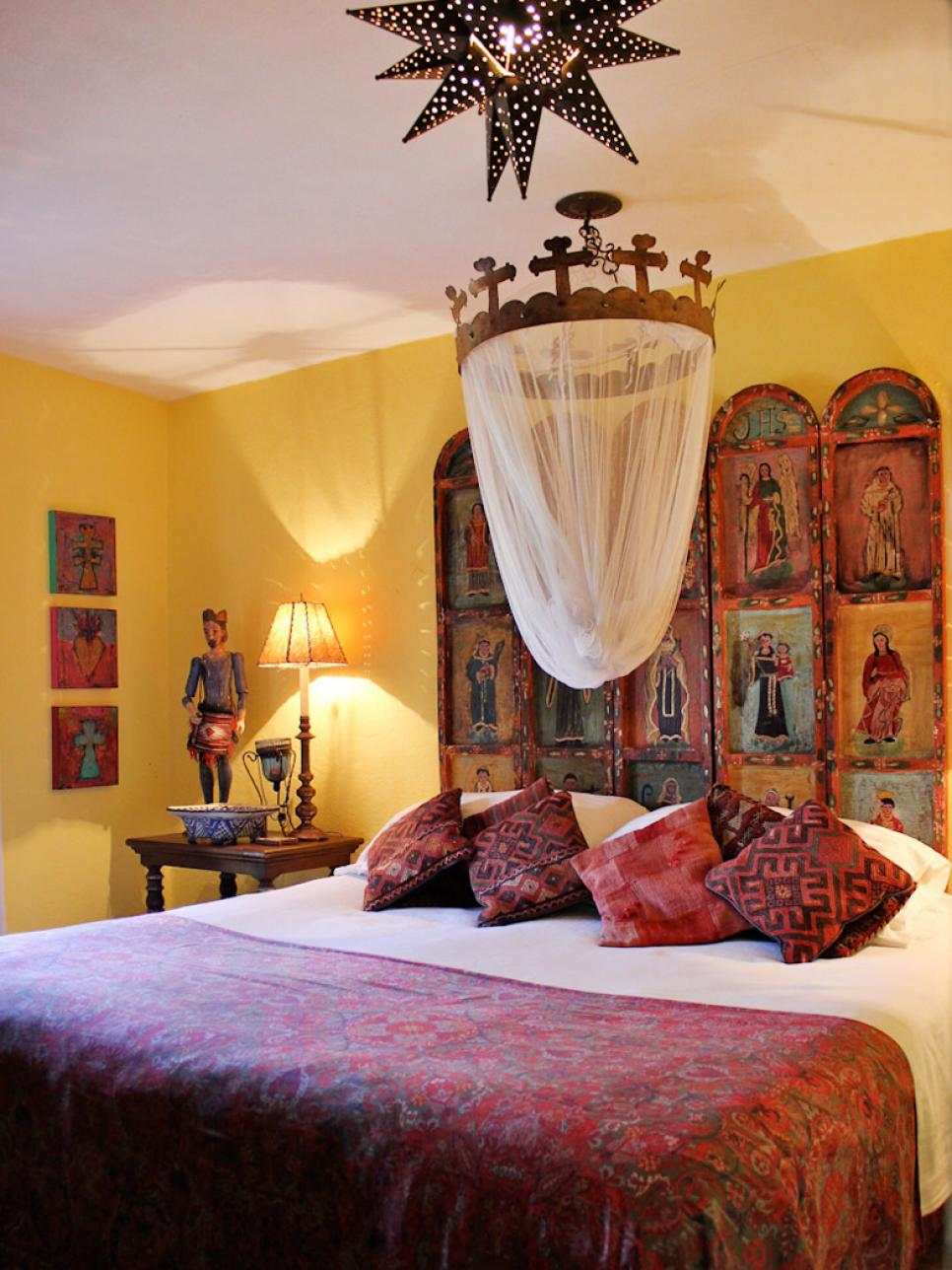 10 spanish inspired rooms hgtv for Home decor yellow walls