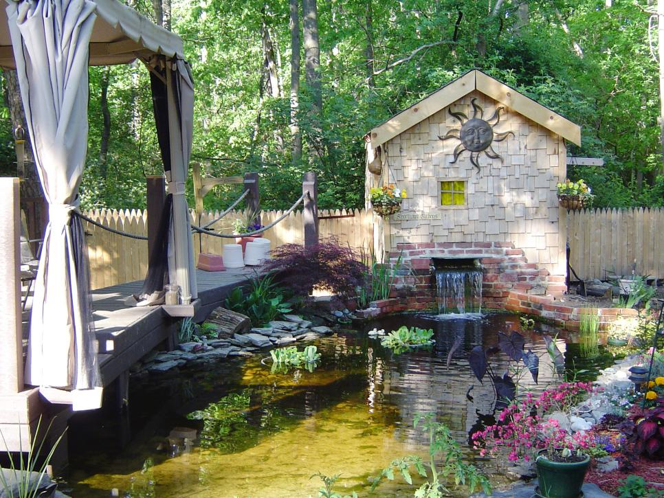 The Perfect Place For A Pond Hgtv