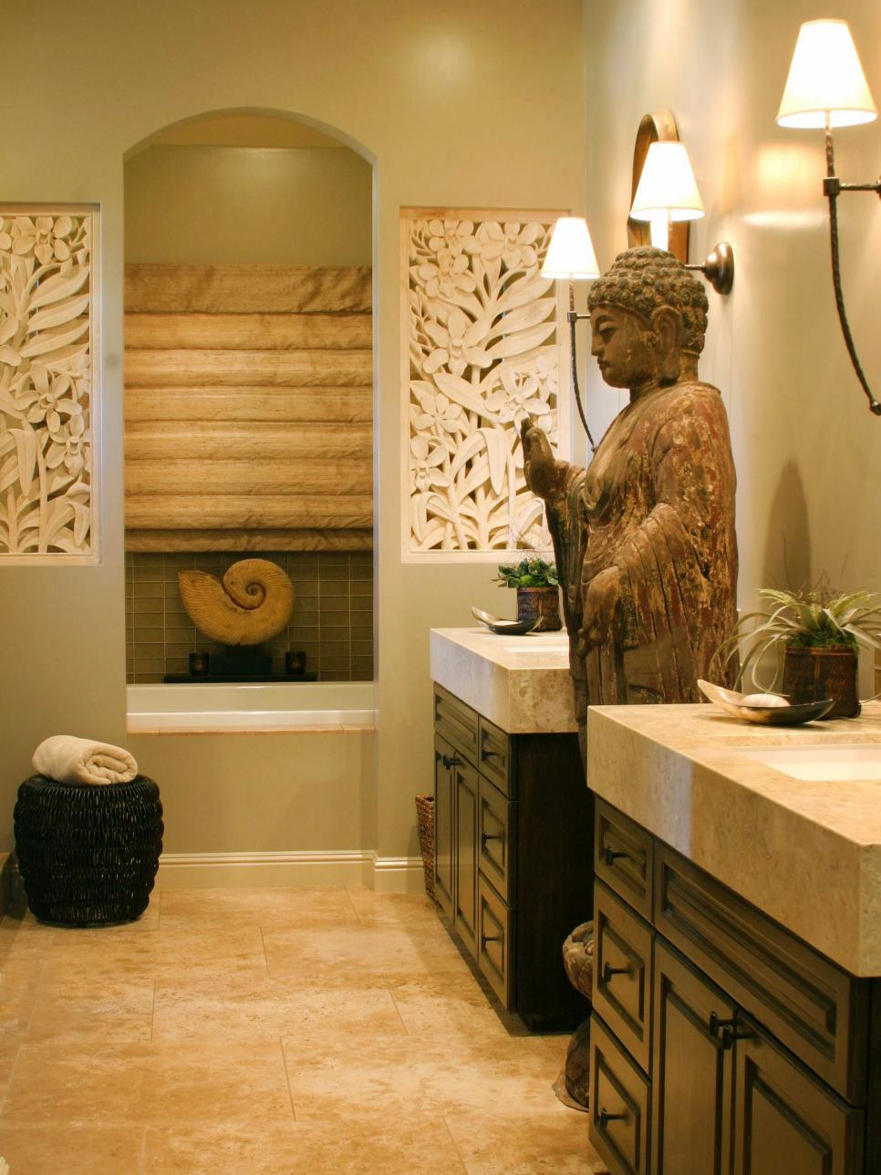 Zen Living Spaces asian design ideas | hgtv