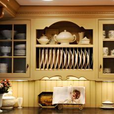 Ochre Country Kitchen Hutch