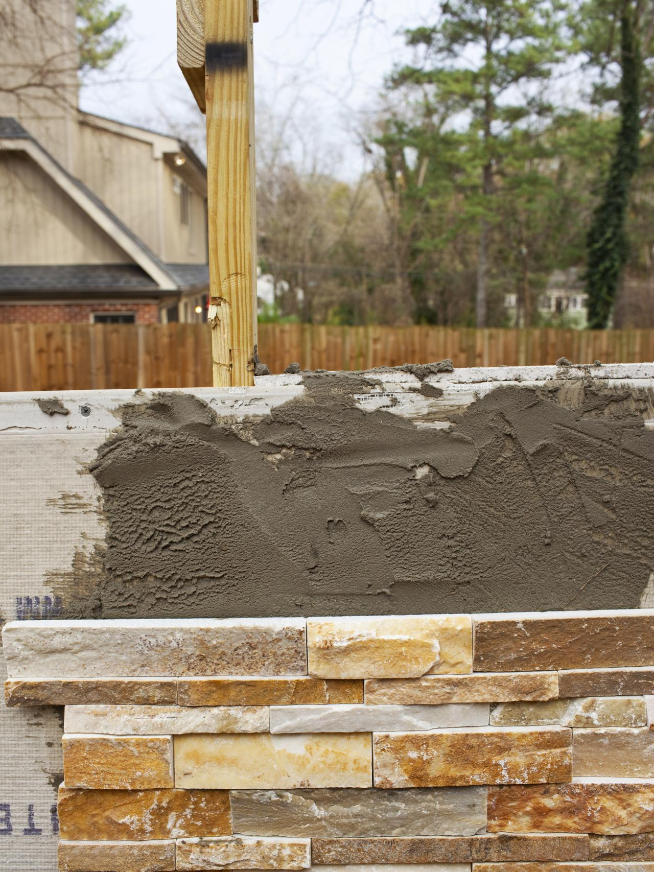 Step 7: Install Stacked Stone