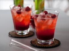 Spicy Raspberry Lemon Cooler Cocktail