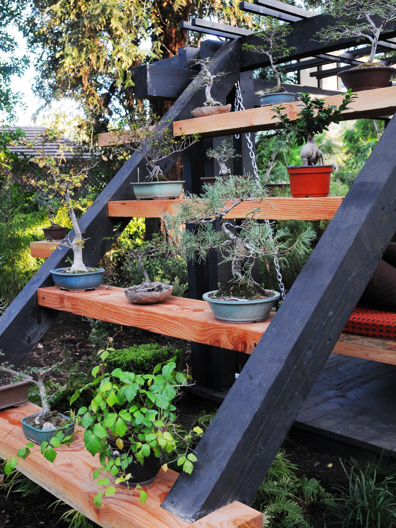 Photos hgtv for Outdoor decorating with potted plants