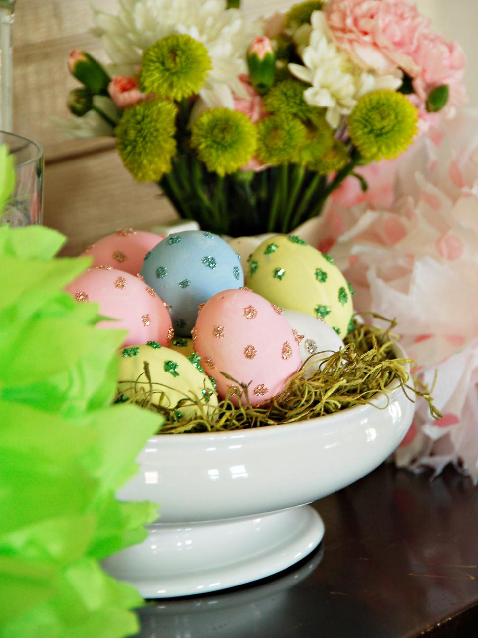 Easter egg decorating ideas hgtv Images for easter decorations