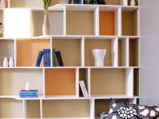 Contemporary White Wall Shelves