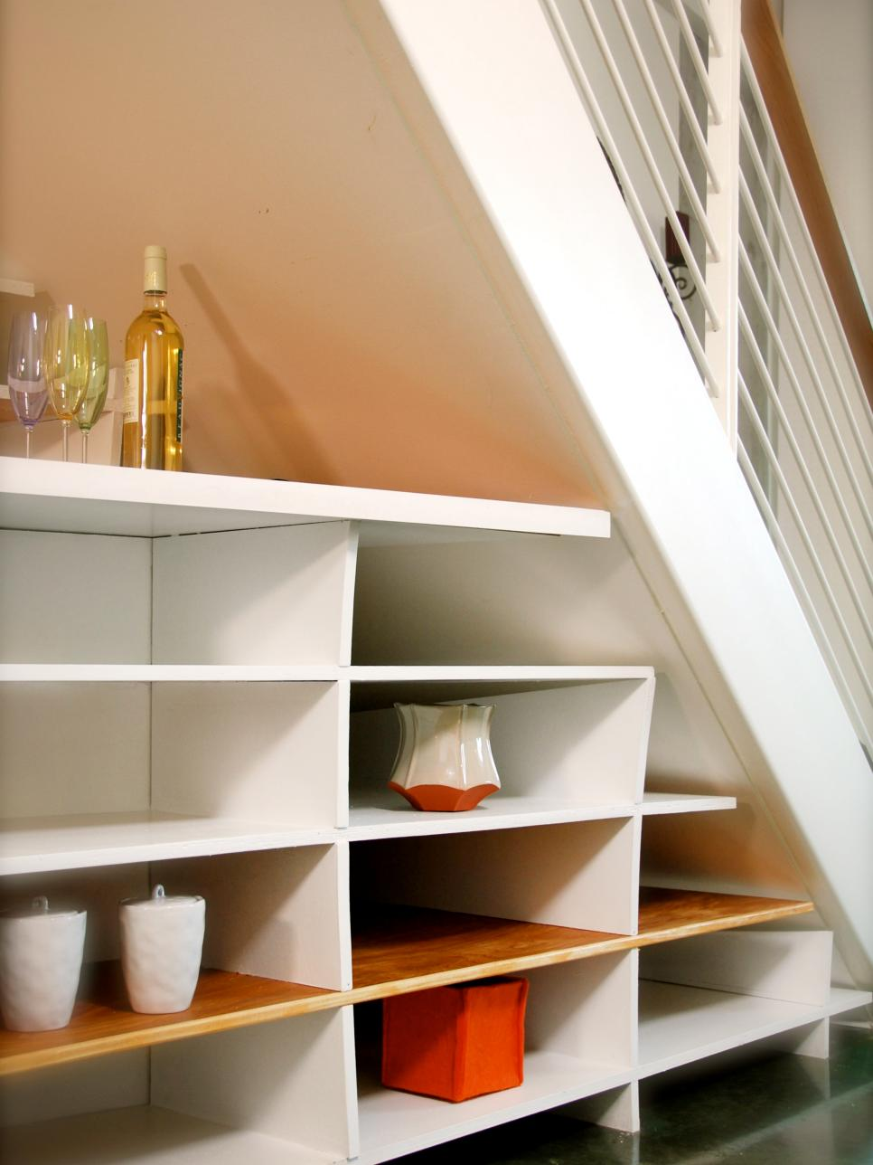 Shelf Design Utilize Spaces With Creative Shelves  Hgtv