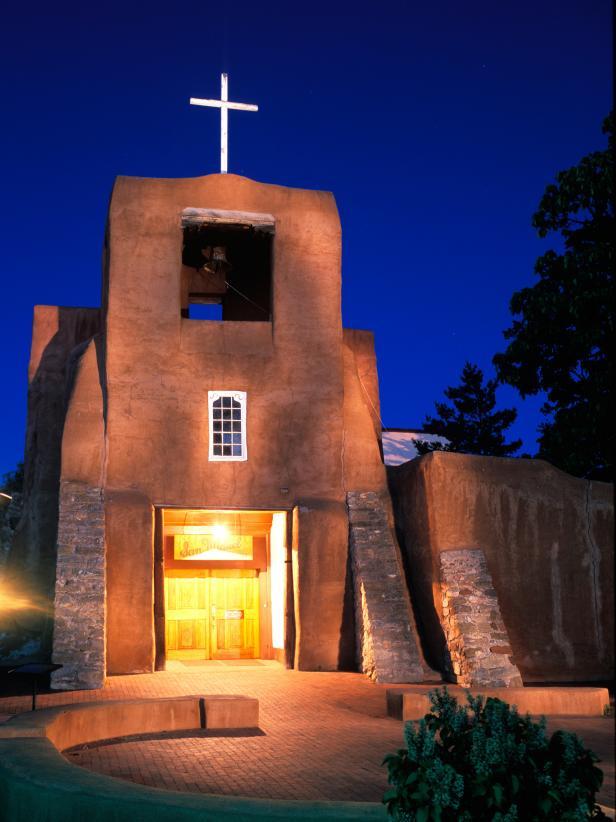 San Miguel Mission in Santa Fe