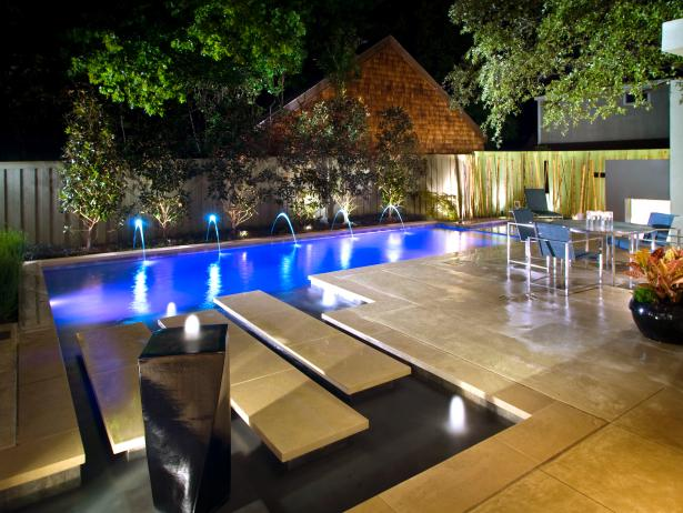 Poolside paradise hgtv Great pool design ideas