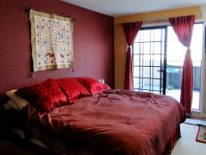 HGTV Room Crashers 101 Red Bedroom