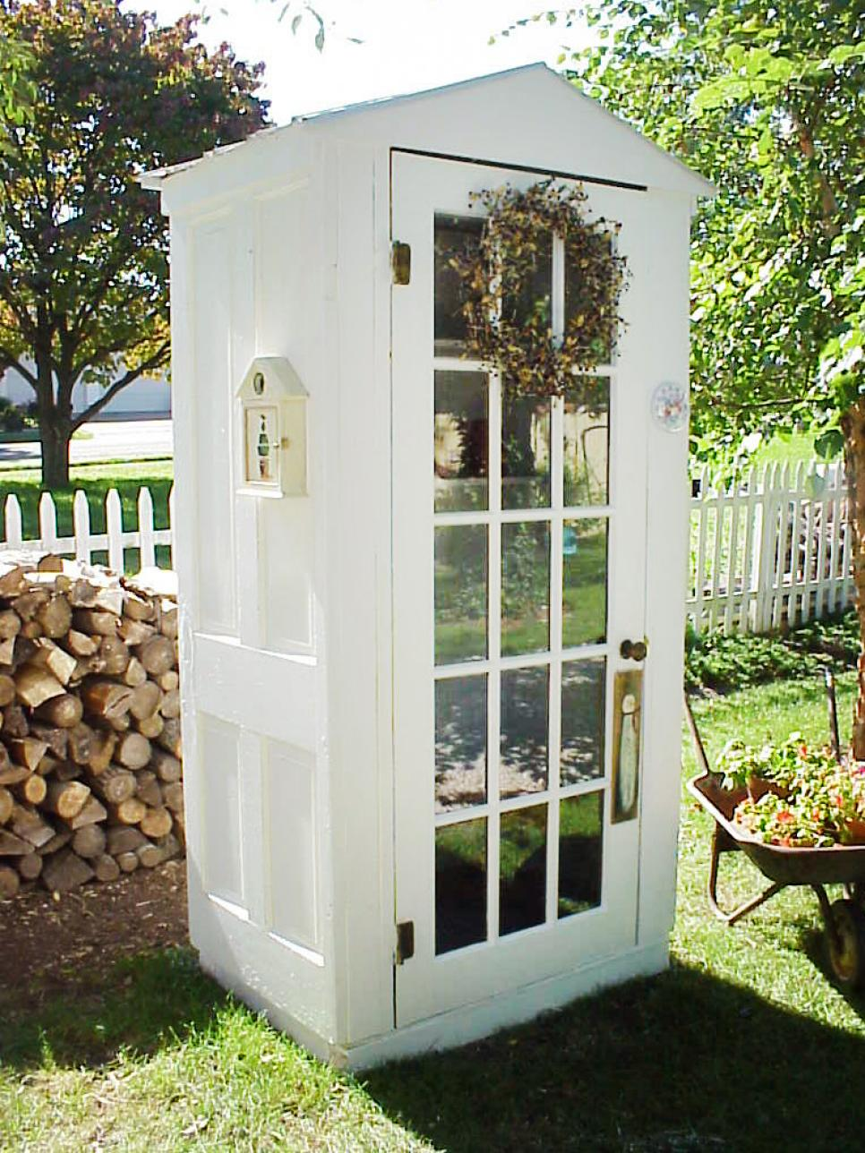 Almost free outdoor project ideas hgtv for Shed project