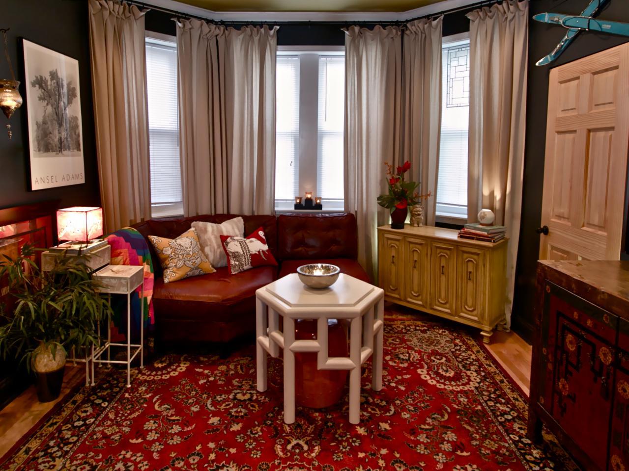 DP Adam Zollinger Blue Gray Eclectic Living Room