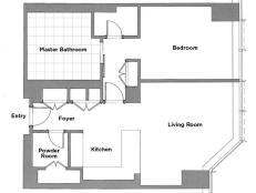 HGTV Urban Oasis 2011 Floor Plan