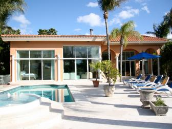 Beach House Pool Area