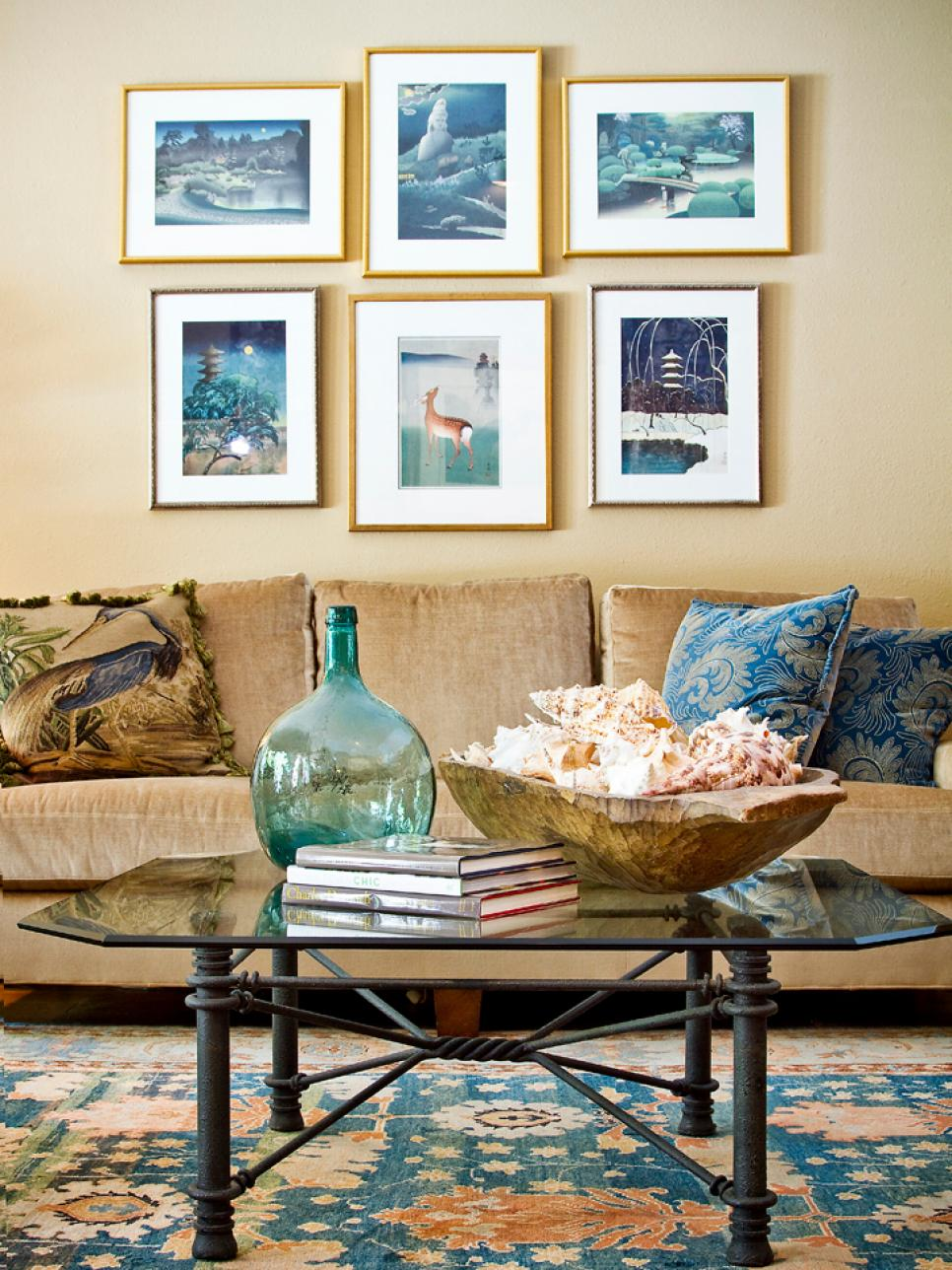 Living Room Beach Decorating Ideas Interesting Coastal Living Room Ideas  Hgtv Decorating Design