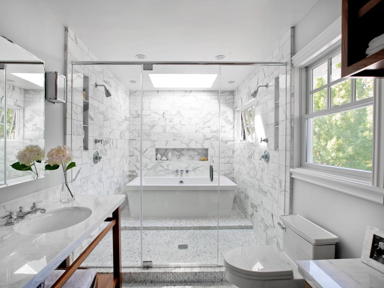 Two person bathtubs pictures ideas tips from hgtv hgtv for Bathroom tile ideas