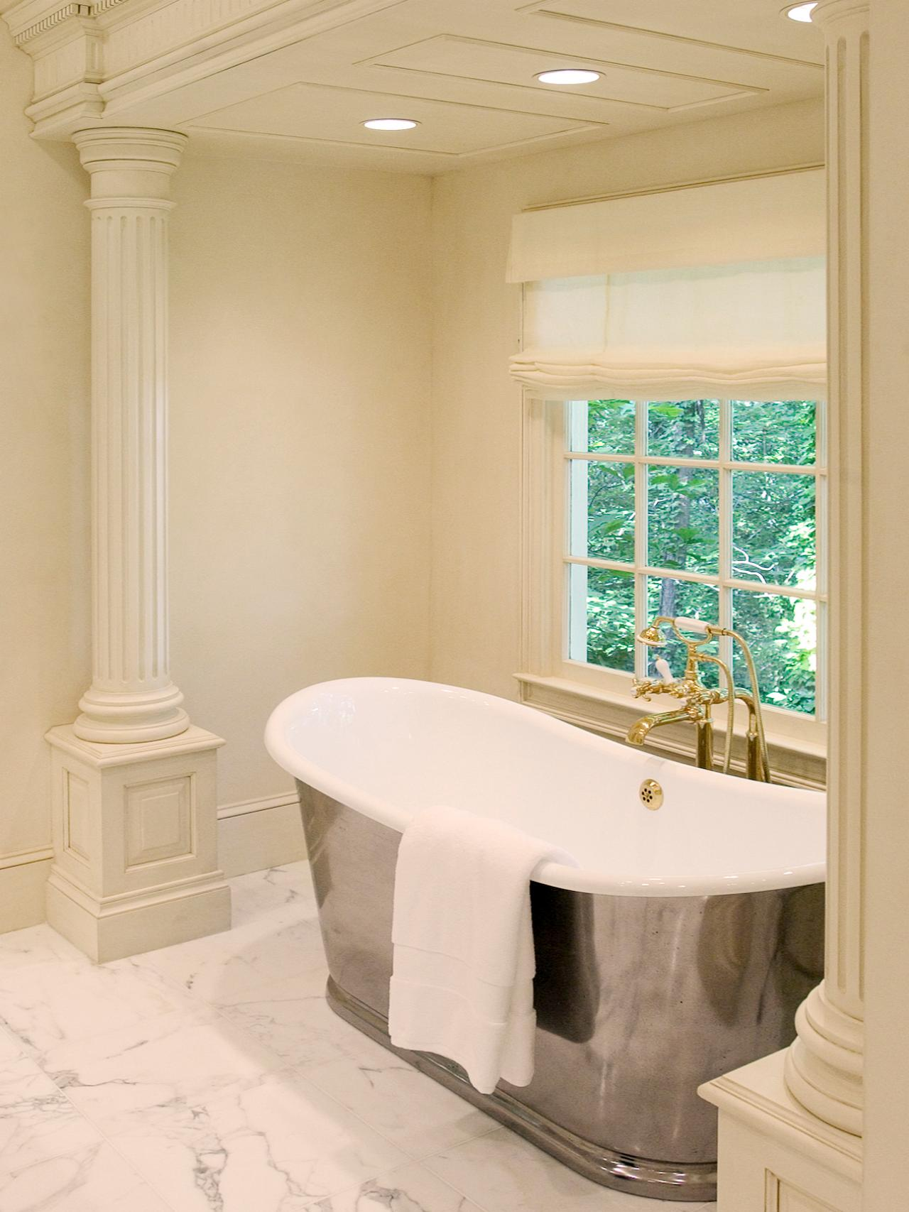 Dreamy tubs and showers bathroom ideas designs hgtv for Bathroom ideas with tub
