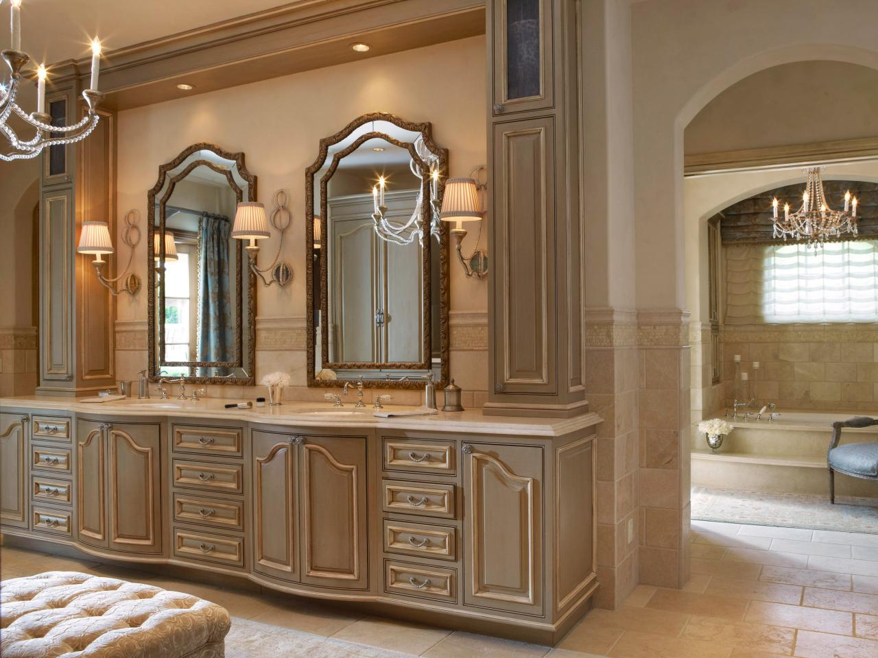 Dreamy bathroom vanities and countertops bathroom ideas designs hgtv Bathroom mirror cabinet design