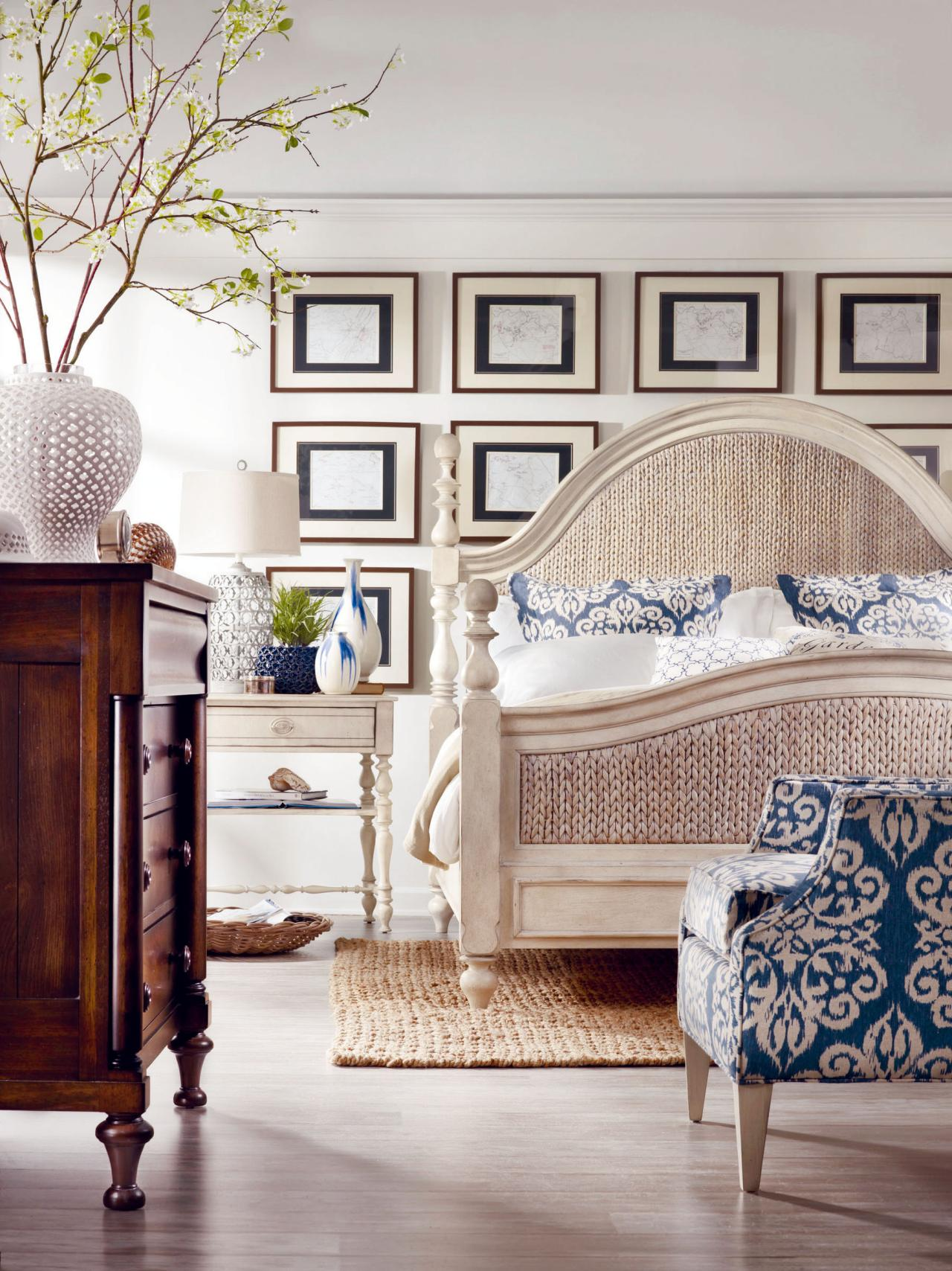Coastal inspired bedrooms bedrooms bedroom decorating for Bedroom decor and accessories