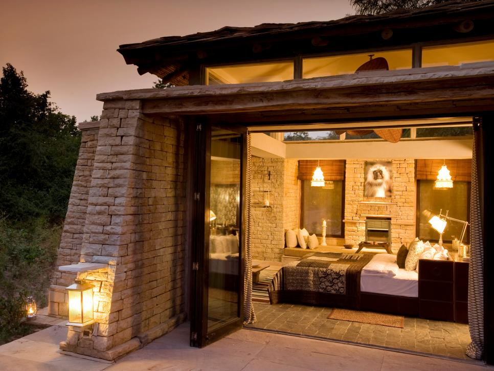 luxurious bedrooms luxurious bedrooms World's Most Luxurious Bedrooms CI Taj stone cottage bedroom outdoor night s