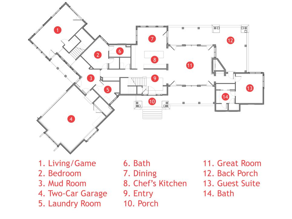 Floor Plan For Hgtv Dream Home 2012 Pictures And Video