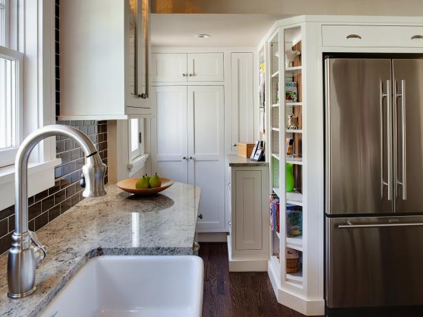 8 small kitchen design ideas to try hgtv - Kitchen Design Ideas Images