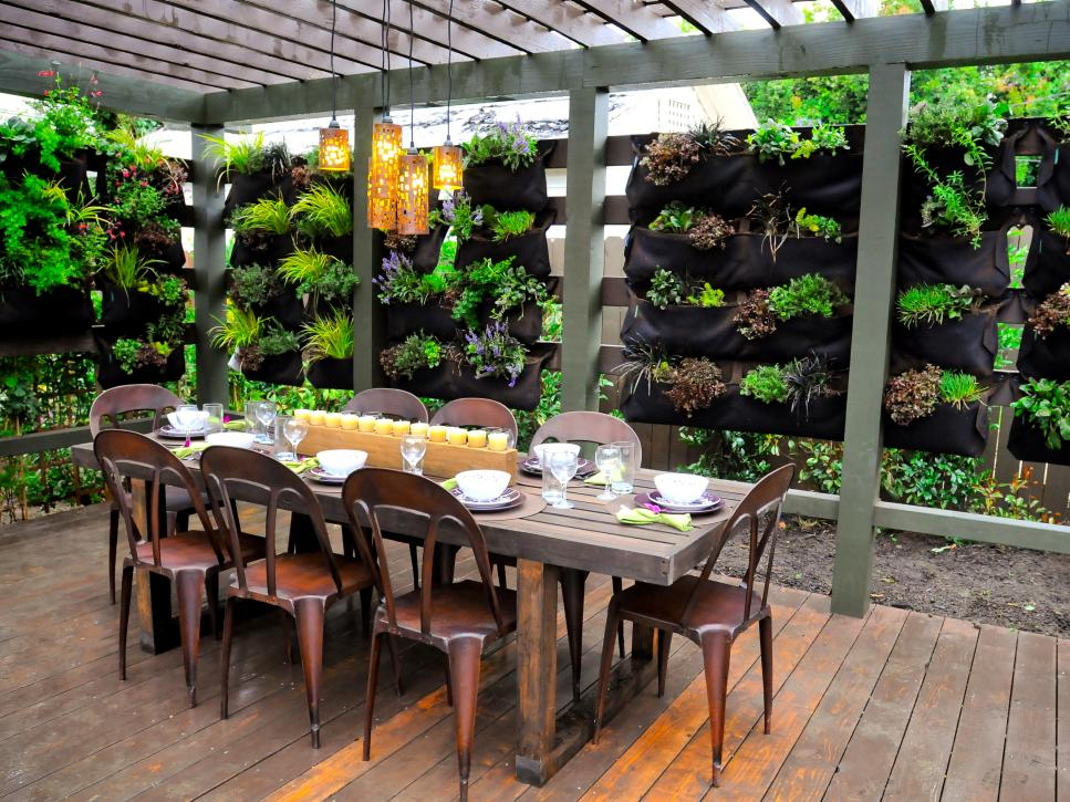 12 outdoor flooring ideas hgtv for Terrace kitchen garden ideas