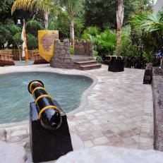 Photos my yard goes disney hgtv for Show pool result