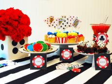 Casino Night Dessert Table Designed by Kelly Lyden