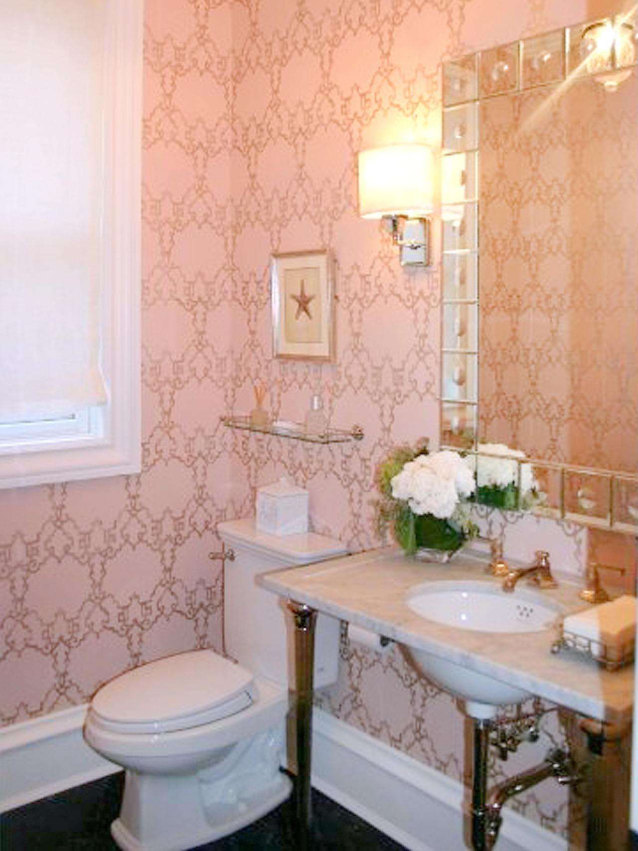 Unique 90 retro pink tile bathroom ideas decorating Pink bathroom ideas pictures