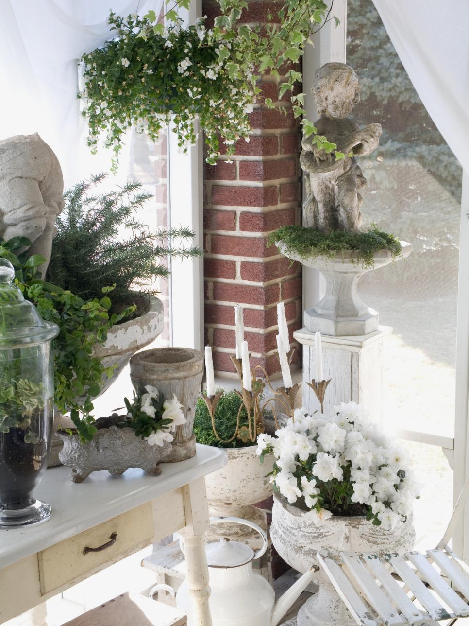 Perfectly shabby chic accents accessories and vignettes for Outdoor patio accessories