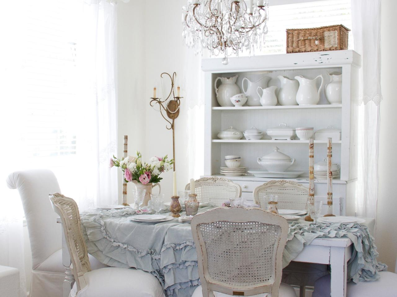 Shabby chic style hgtv - Shabby chic dining rooms ...
