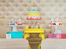 Candy Theme Birthday Party