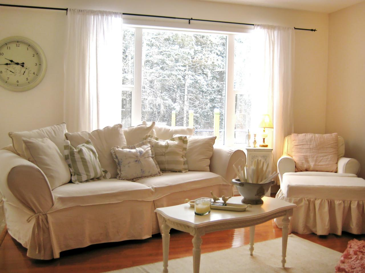 Shabby chic living rooms living room and dining room Pictures of living room designs