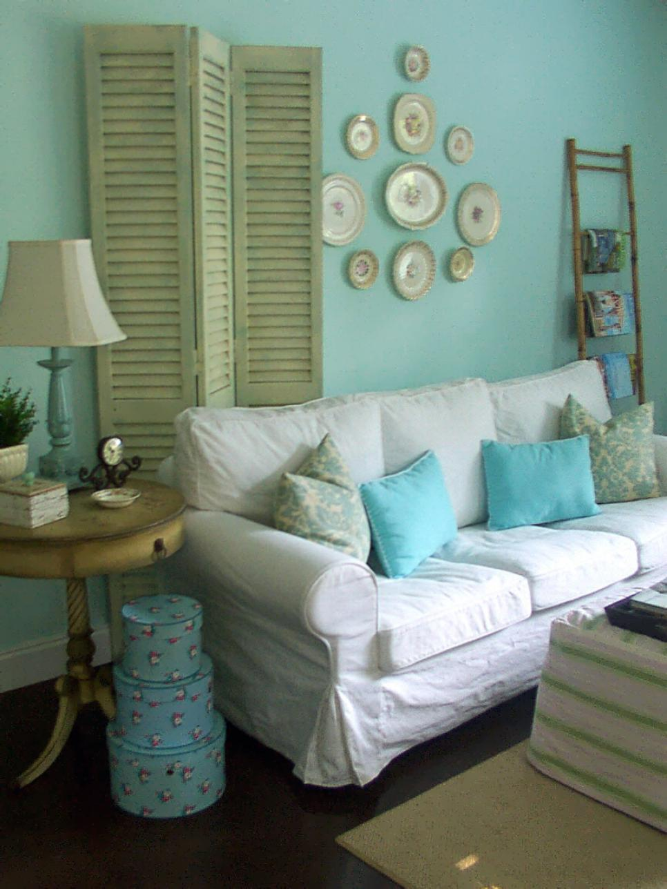 Shabby Chic Living Rooms Hgtv