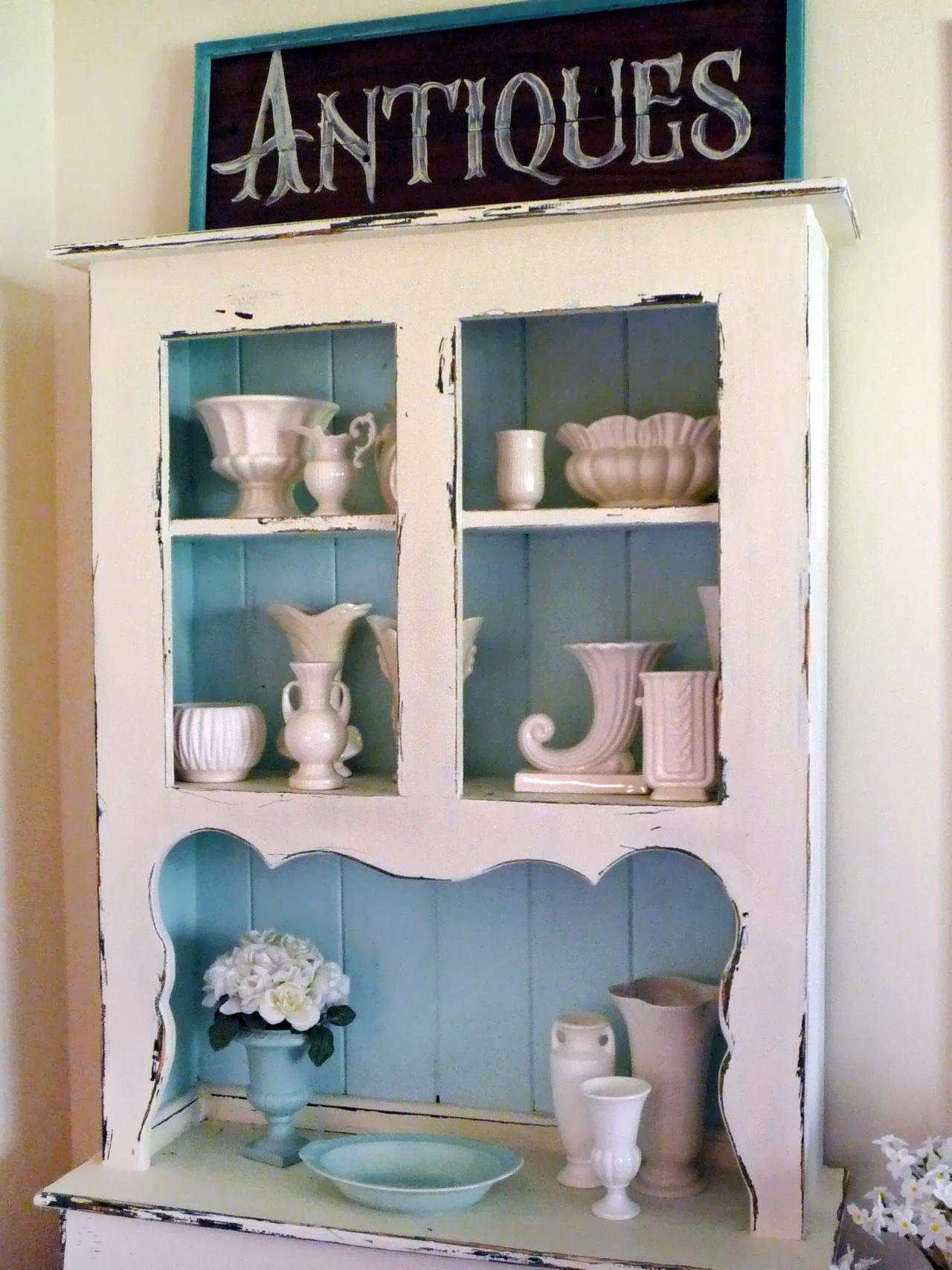 Shabby Chic Kitchen Furniture How To Distress Furniture Hgtv