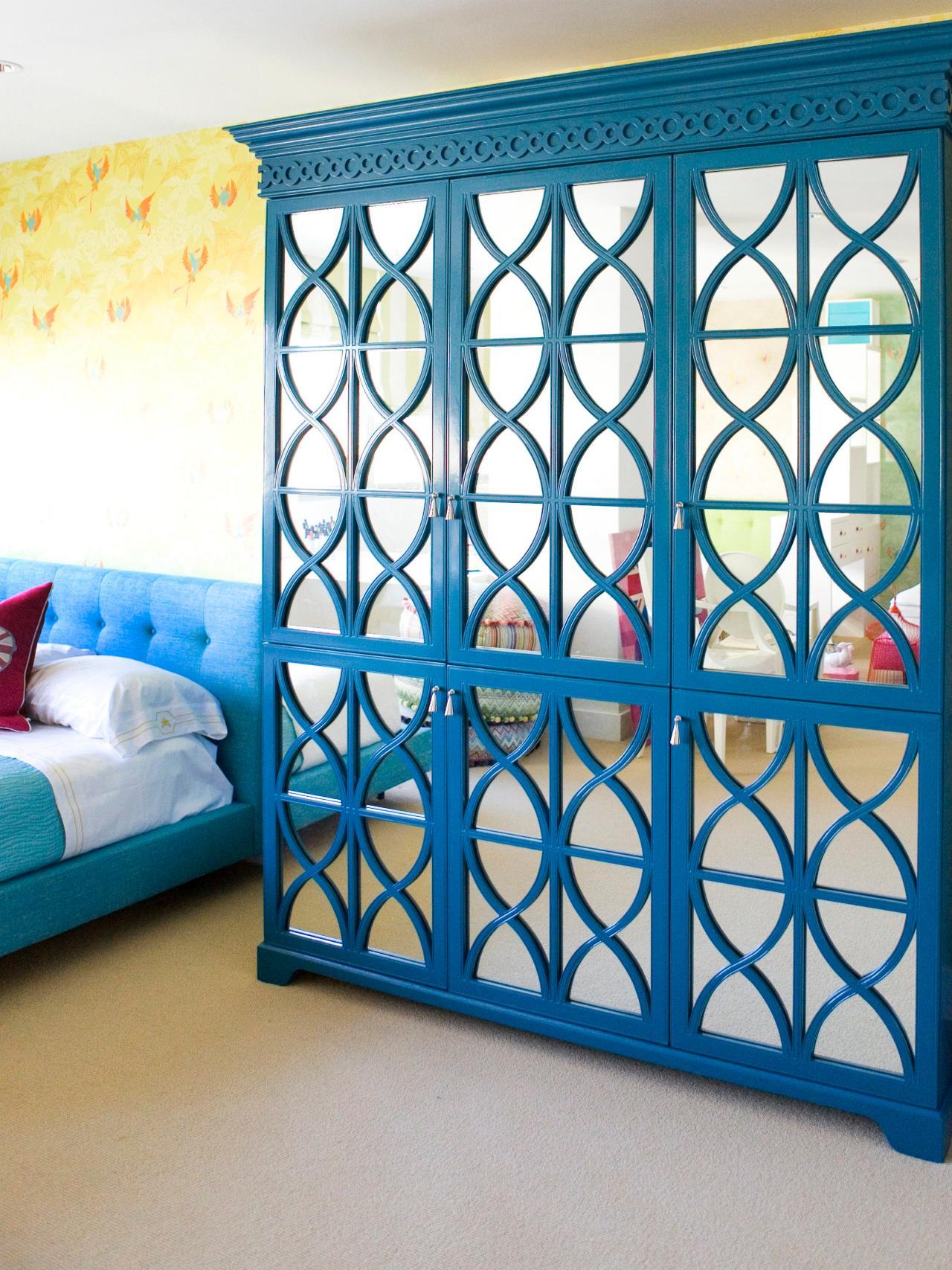 Chic Bedroom Storage