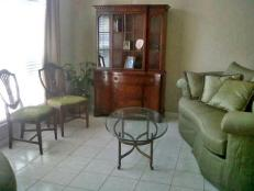 Before: Traditional Living Room