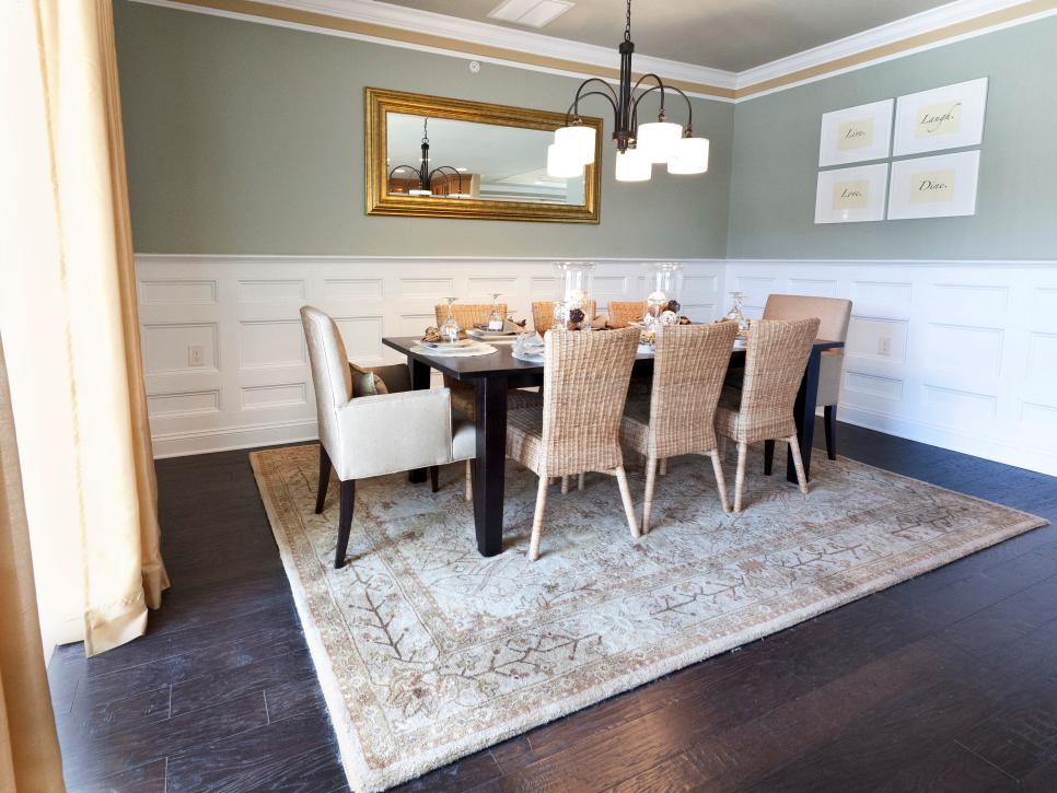 Amazing designs from showhouse showdown hgtv for Dining room 101 heswall