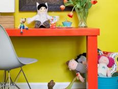 Colorful, Contemporary Kids' Room