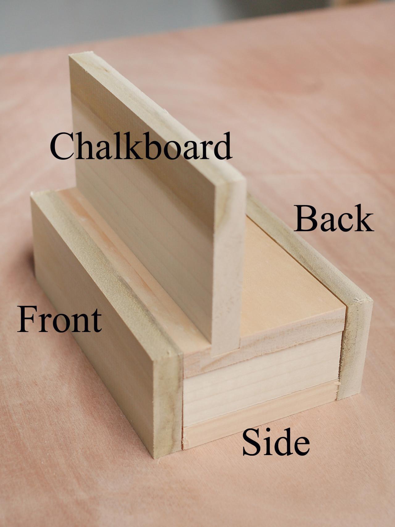 how to make chalkboard stocking hangers hgtv