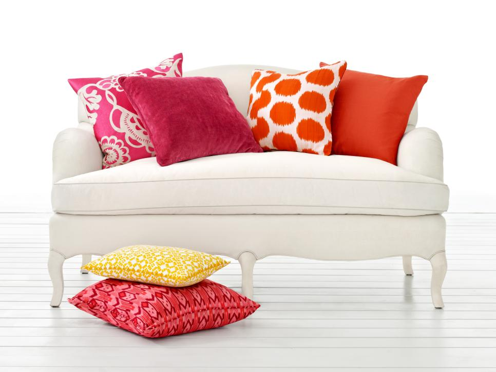 Style A Sofa 5 Different Ways Hgtv