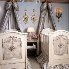 Blue Victorian Bedroom blue victorian bedroom photos | hgtv