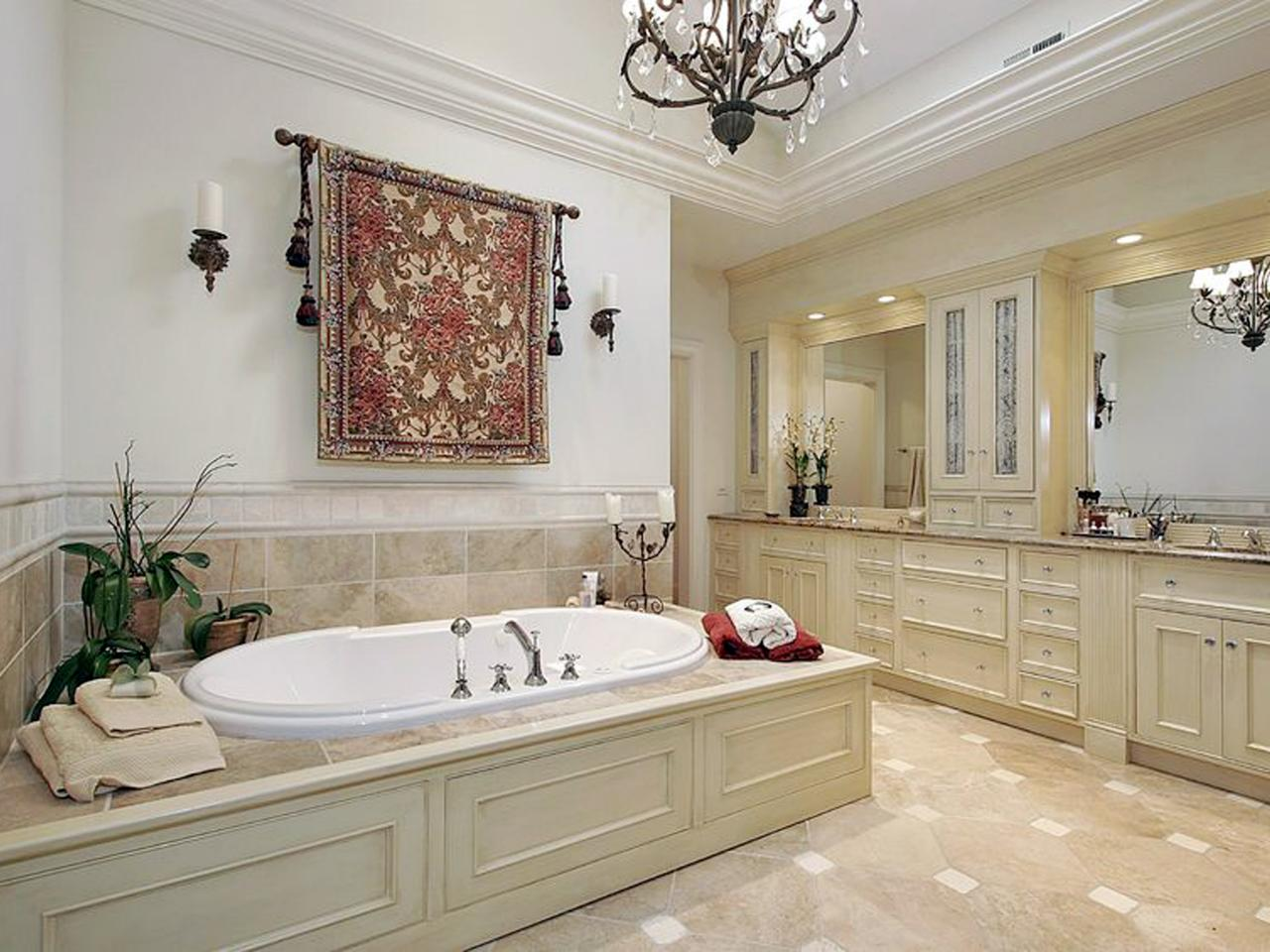 Photo page hgtv for Master bathroom ideas