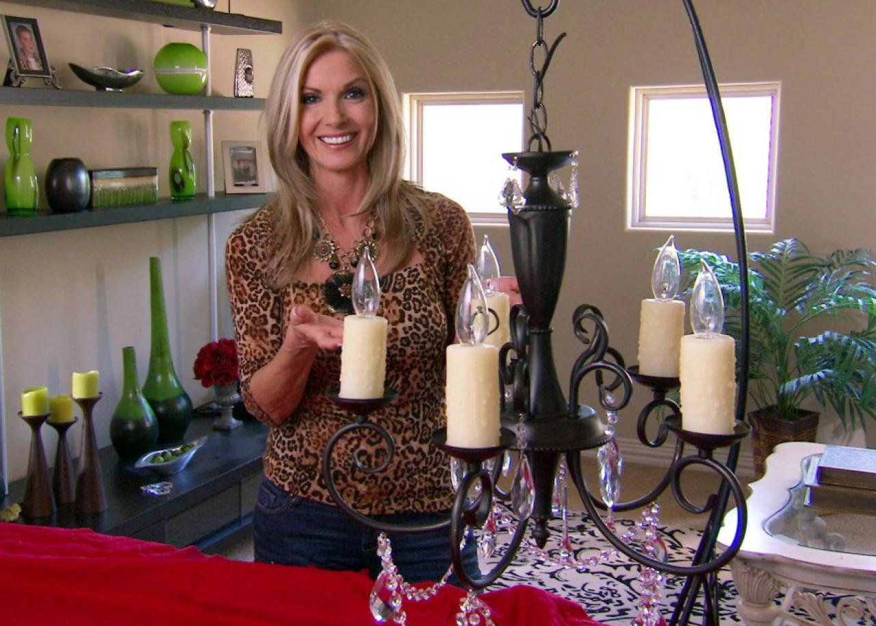 Donna Decorates Dallas Upgrade An Outdated Chandelier Hgtv