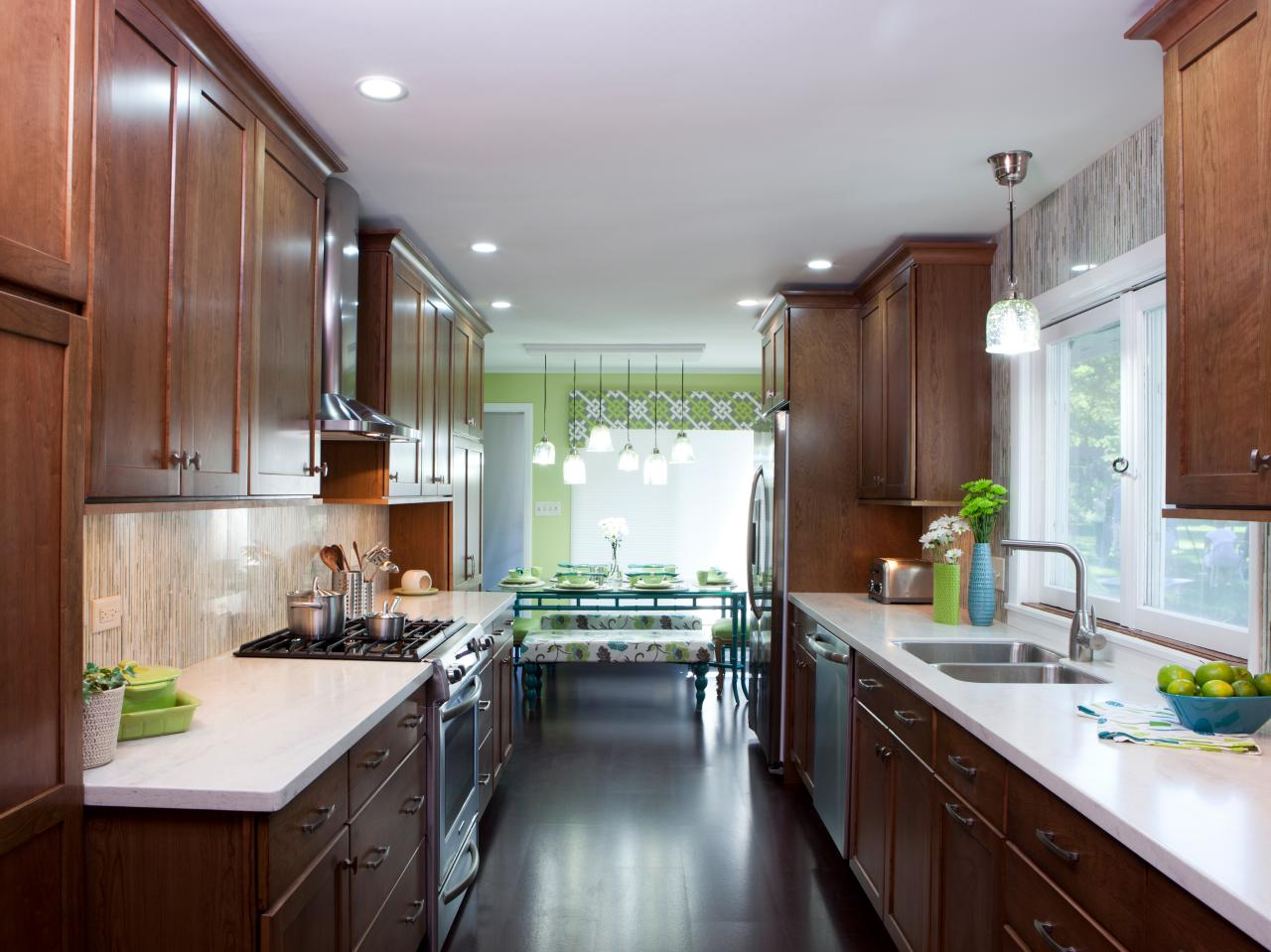 Galley Kitchen Design Ideas another option for a small kitchen areai am obsessed with a kitchen remodel Small Kitchen Layouts Pictures Ideas Tips From Hgtv Hgtv