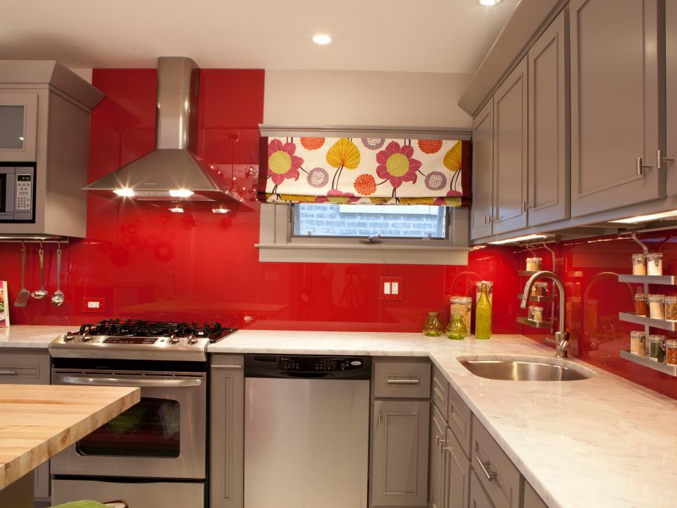 13 almost free kitchen updates hgtv for Updated kitchen remodels