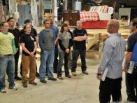 Holmes Talks to All American Handyman Contestant